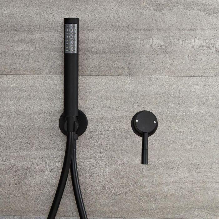 Nox -  Unterputz Einhebel-Duschventil mit Handbrause