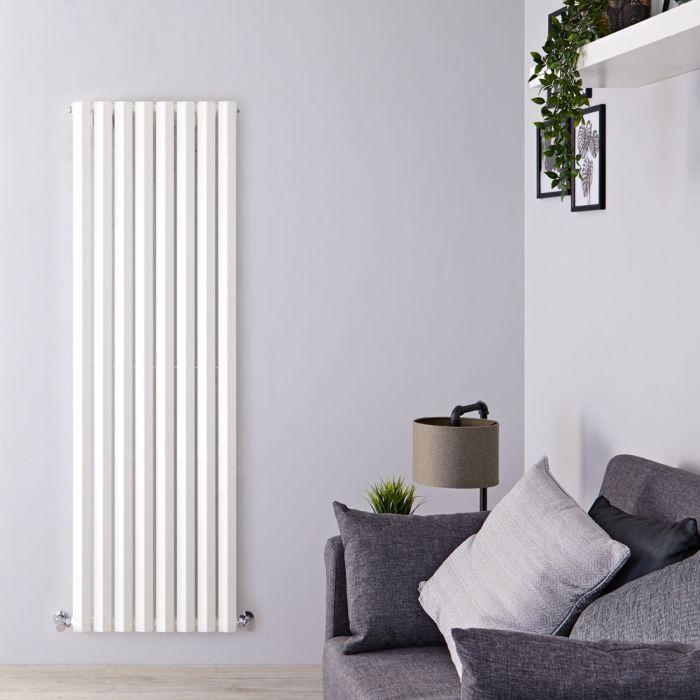 Design Heizkörper Vertikal Einlagig Weiß 1780mm x 560mm 1401W - Vital