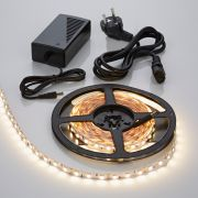 Biard 5m 5050 300 LED Strip Set, warmes Weiß, nicht wasserdicht