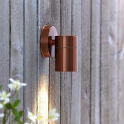Biard Wandleuchte Edelstahl IP54 Außenbeleuchtung - Kupfer