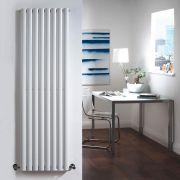 Design Heizkörper Vertikal Einlagig Weiß 1600mm x 472mm 1122W - Revive