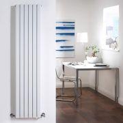 Design Heizkörper Vertikal Doppellagig Weiß 1600mm x 354mm 1193W - Sloane