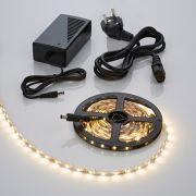 Biard 5m 3528 300 LED Strip Set, warmes Weiß, inkl. Netzteil