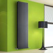 Design Heizkörper Vertikal Doppellagig Anthrazit 1780mm x 560mm 2158W - Vital
