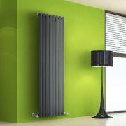 Design Heizkörper Vertikal Einlagig Anthrazit 1600mm x 560mm 1261W - Vital
