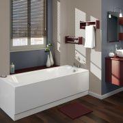 Einbau-Badewanne 1700mm x 750mm