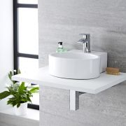 Aufsatzwaschbecken Oval 350mm x 340mm - Covelly