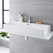 Aufsatzwaschbecken Rechteckig 1010mm x 425mm - Sandford