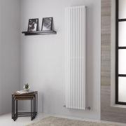 Design Heizkörper Vertikal Weiß 925W 1806mm x 392mm - Neive