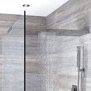 Duschkopf-Duschglaswandhalterung in Kombination 1000mm x 250mm - Tratham