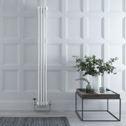 Gliederheizkörper Vertikal 3 Säulen Nostalgie Weiß 1800mm x 203mm 779W - Regent