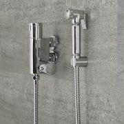 Bidet Hygienedusche Thermostatisch Chrom