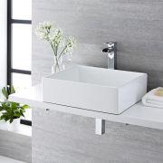 Aufsatzwaschbecken Rechteckig 490mm x 390mm - Haldon