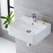 Waschbecken Rechteckig 520mm x 420mm - Exton
