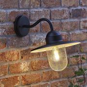 Biard Gebogene Wandleuchte Siena - Schwarz - mit LED