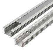 Biard Einbau-Befestigungs-Schiene Eckig 100cm für LED Strips