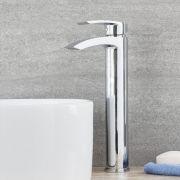 Hohe Standarmatur für Aufsatzwaschbecken- Razor