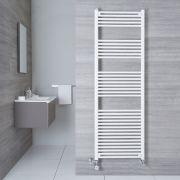 Handtuchheizkörper Mischbetrieb Weiß 1800mm x 600mm 1138W - Etna