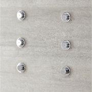 Körperdüse für Duschen mit Nebeleffekt (6 Stk.)