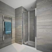 Duschtür Falttür 900mm - Portland