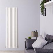 Design Heizkörper Vertikal Einlagig Weiß 1780mm x 472mm 1391W - Savy