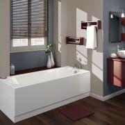 Einbau-Badewanne 1500mm x 700mm