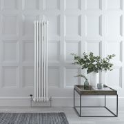 Gliederheizkörper Vertikal 3 Säulen Nostalgie Weiß 1500mm x 290mm 1041W - Regent