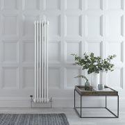 Gliederheizkörper Vertikal 2 Säulen Nostalgie Weiß 1500mm x 293mm 822W - Regent
