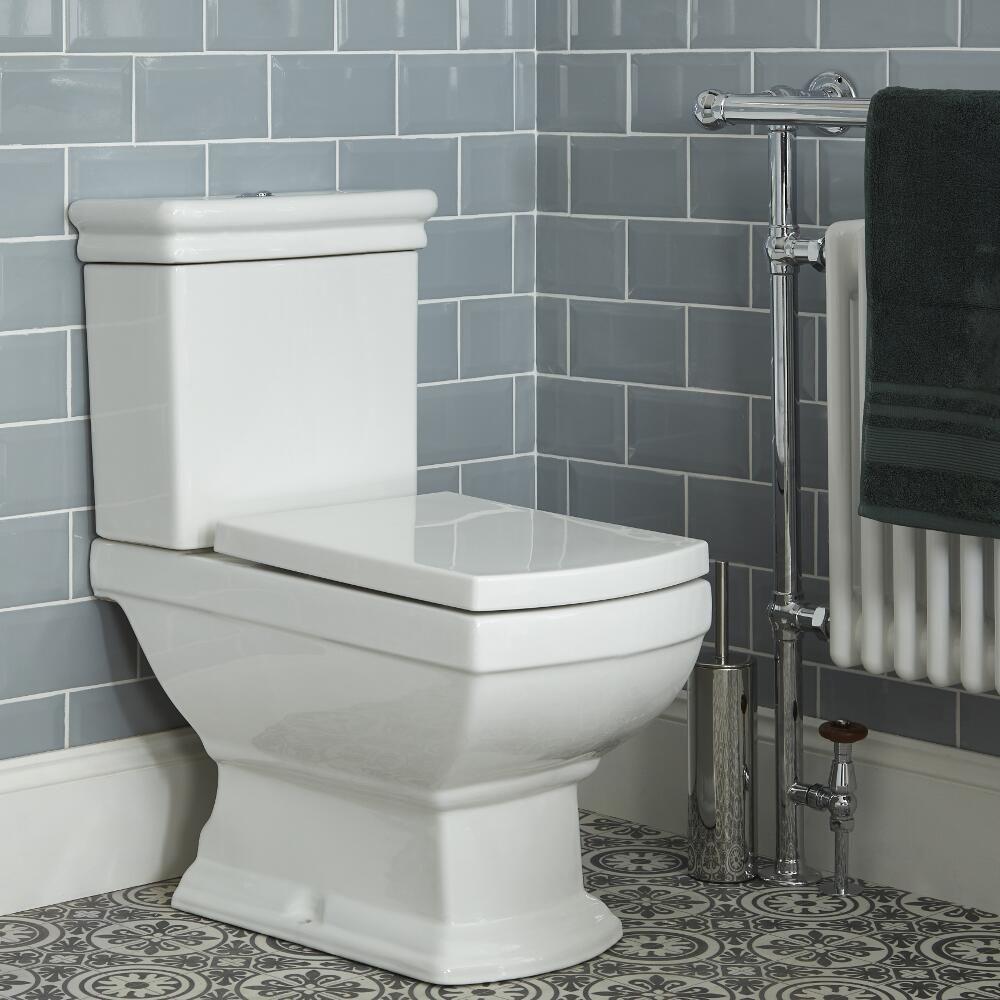 Tiefsp/ülkasten Pergamon Anschlussbogen f/ür Sp/ülkasten 390 x 350 mm WC Kunststoff Toilette