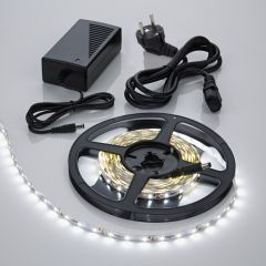 Biard 5m 3528 300 LED Strip Set, kühles Weiß, inkl. Netzteil