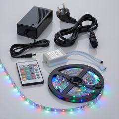 Biard 5m RGB 3528 300 LED Strip Set, farbwechselnd, inkl. Netzteil