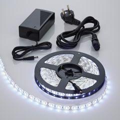 Biard 5m 5050 300 LED Strip Set, kühles Weiß, nicht wasserdicht