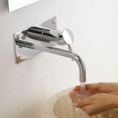 Unterputz Einhebel Waschtischarmatur - Verchromt - Tec