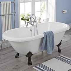Freistehende Badewanne mit Füßen - Napoli