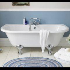 Vorwand Badewanne zum Anlehnen an die Wand 10-14mm Dicke