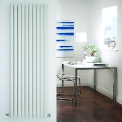 Design Heizkörper Vertikal Einlagig Weiß 1780mm x 590mm 1487W - Revive