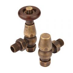 Heizkörperventile Retro Bronze Winlkelventil - Bentley