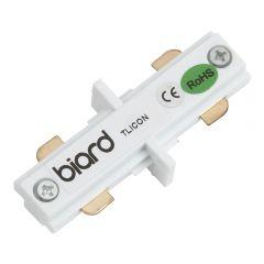 Biard Stromschienenverbindungsstück Gerade Weiß