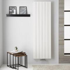 Design Heizkörper Aluminium Doppellagig Vertikal Weiß 1800mm x 565mm - Kett