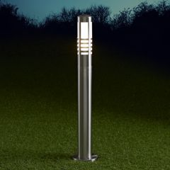 Biard Orleans 600mm Pollerleuchte Edelstahl Chrom inklusive Leuchtmittel