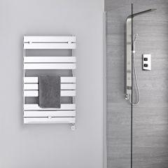 Elektrischer Handtuchheizkörper 1000mm x 600mm Chrom - Lustro