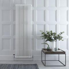 Gliederheizkörper Vertikal 3 Säulen Nostalgie Weiß 1800mm x 563mm 2338W - Regent