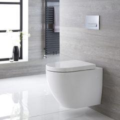 Hänge WC Oval Sitz mit Absenkautomatik - Ashbury