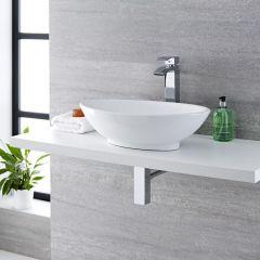 Aufsatzwaschbecken Oval 520mm x 320mm - Kenton