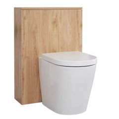 Hudson Reed Newington - 600mm Toilette - Goldene Eiche