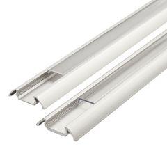 Biard Befestigungs-Schiene Flach100cm für LED-Strips