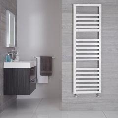 Handtuchheizkörper Weiß 814W 1600mm x 500mm - Ponza