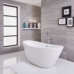 Freistehende Badewanne Oval 1700mm - Ashbury
