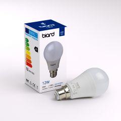 Biard 6x Dimmbare LED Birne 12W Milchglas mit E27 Gewinde