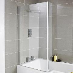 Badewannenaufsatz mit Eckstück 1400 x 805mm